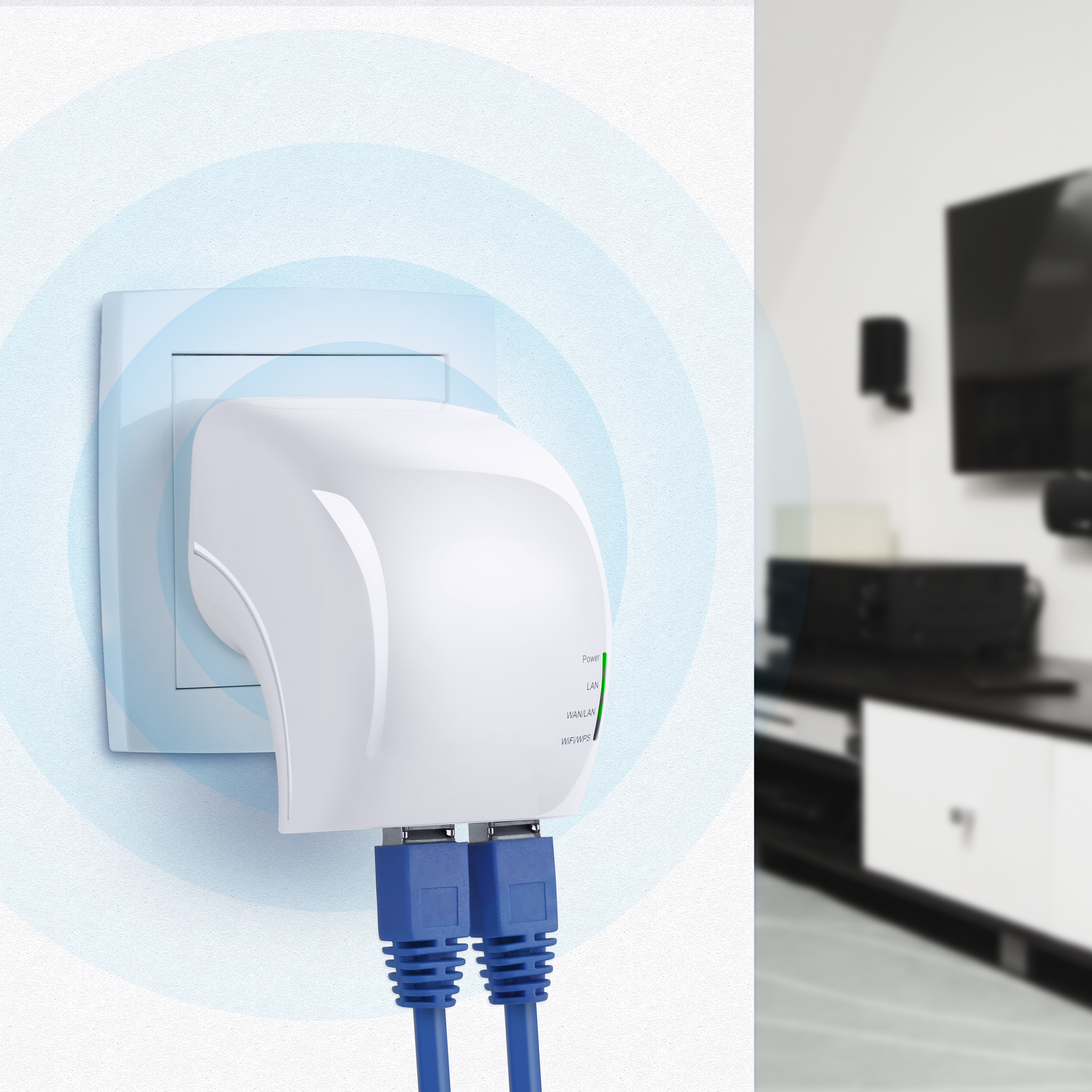 csl wlan wifi dual band ac750 repeater access point router 2 4 5 ghz ebay. Black Bedroom Furniture Sets. Home Design Ideas