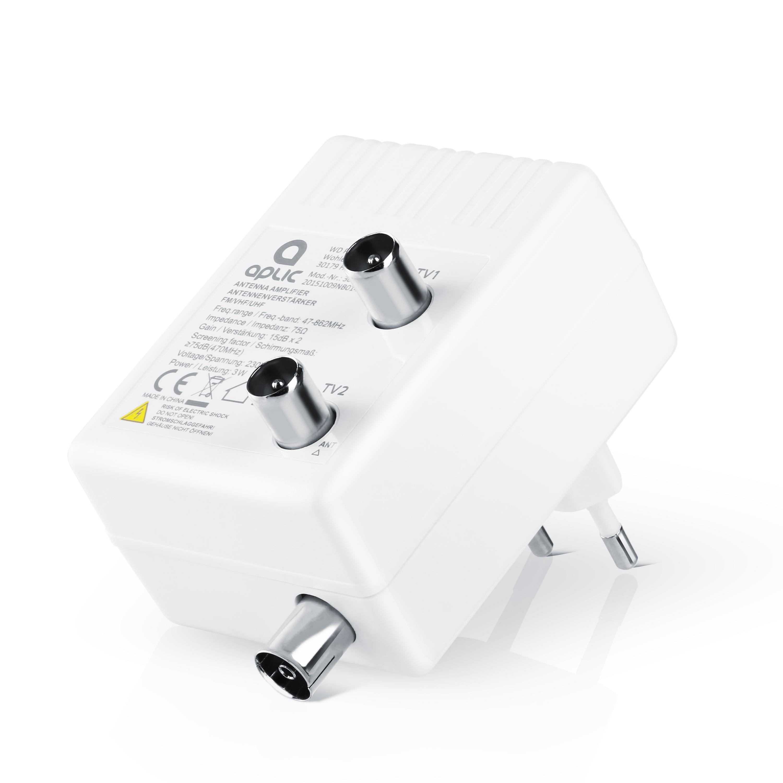 Verteilverstärker B-Ware CSL Antennenverstärker für DVB-T Radio Kabel TV