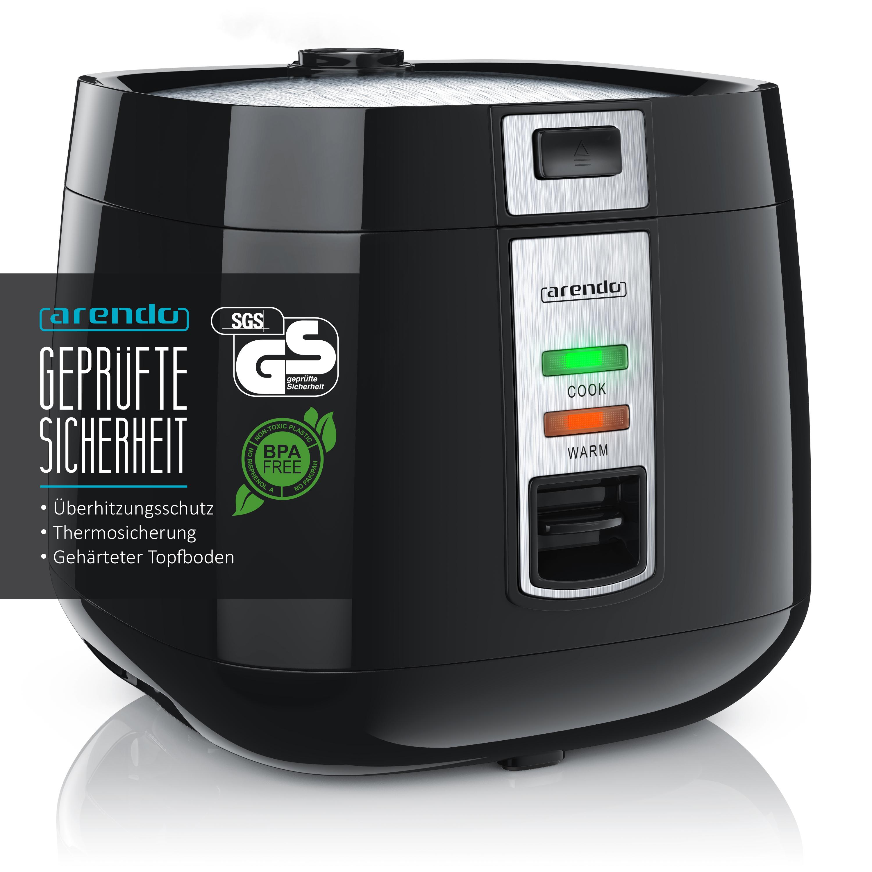 Arendo Maki Sushi-Reiskocher Reiskocher Dampfgarer Vollautomatisch