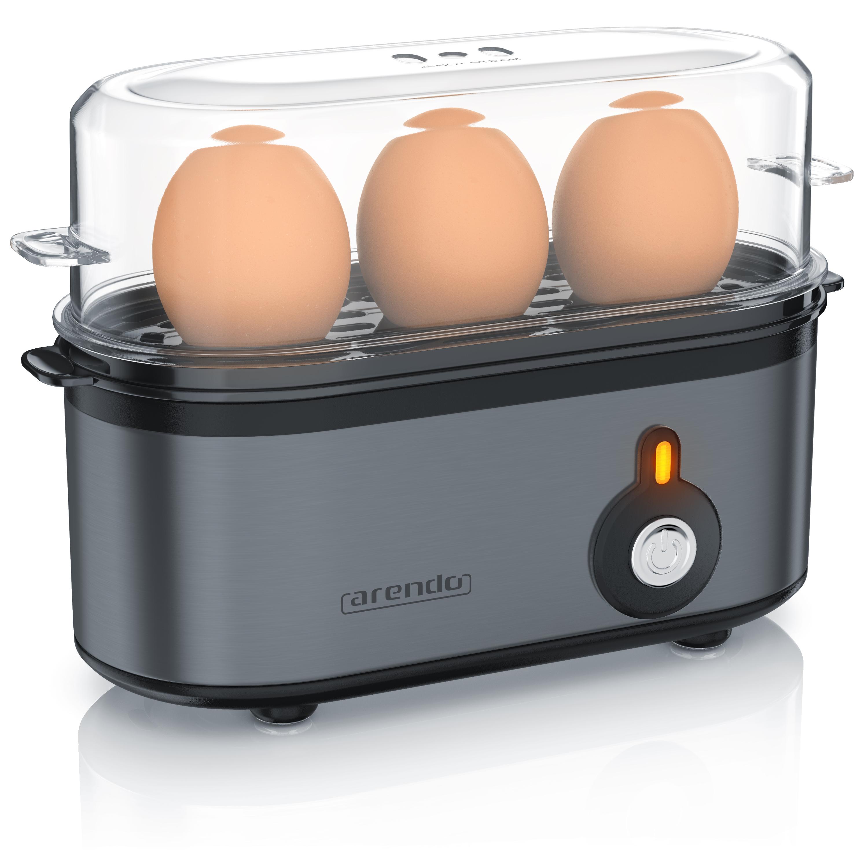 "Arendo Edelstahl Eierkocher /""Threecook/""Egg cooker1-3 EierBPA frei"